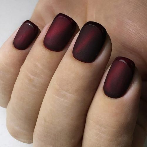 New Trendy Burgundy Nail Ideas picture 1