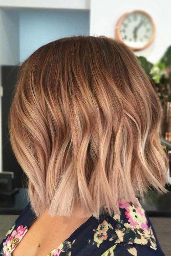 Ombre For Medium Hair Length #shortombrehair #balayage #shorthair #bobhaircut #mediumhair