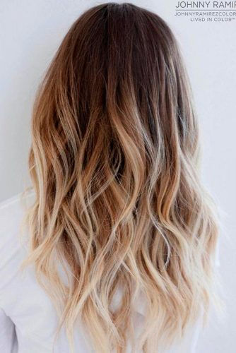 Ombre Hair Brown to Blonde picture 2