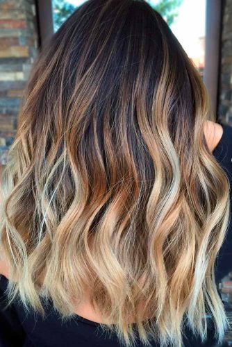 Ombre Hair Brown to Blonde picture 3