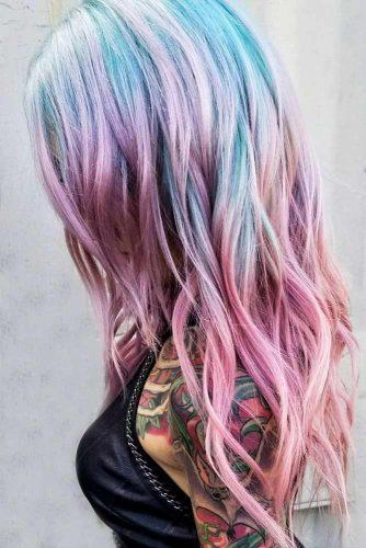 Pastel Unicorn Layers #pinkhair