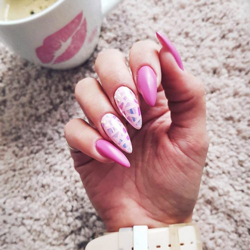 Pink Nails for the Real Princesses Picture 2