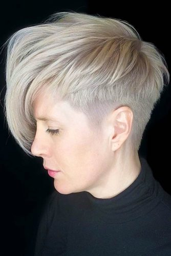 Pixie With Long Layered Bang For A Fresh Look #shorthaircuts#shorthairstyles #pixie