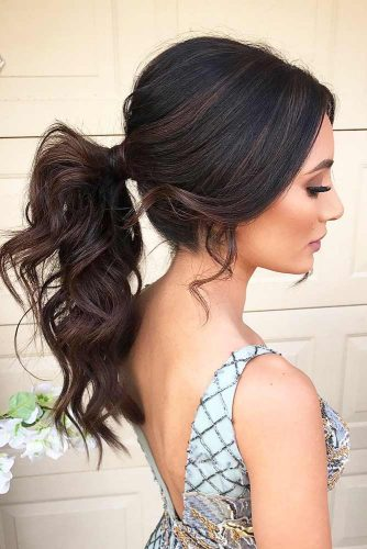 Ponytail Hairstyles for Valentines Day picture2