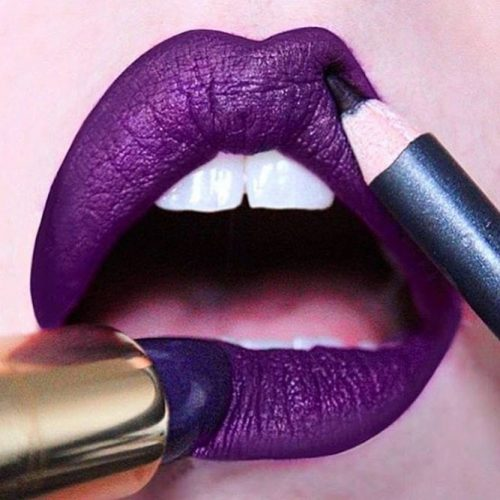 Popular Purple Lipstick Shades picture 2
