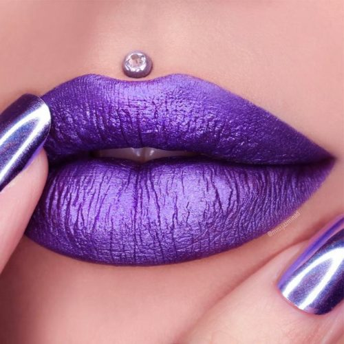 Popular Purple Lipstick Shades picture 4