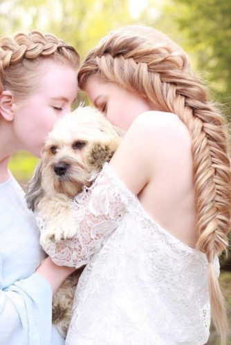 Pretty Braided Hairstyles for Prom picture 3