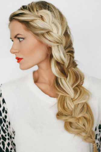 Pretty Braided Hairstyles for Prom picture 5