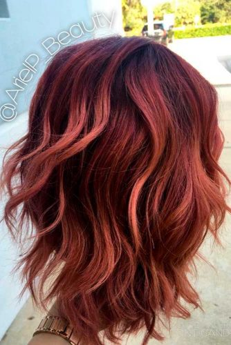 Red Balayage Tones