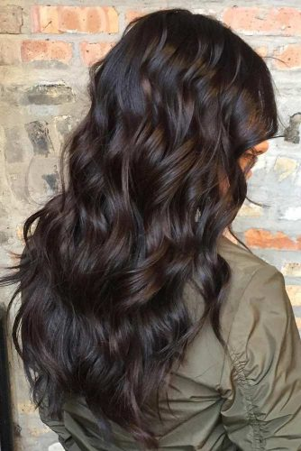 Rich Hue of Dark Brown Hair Color