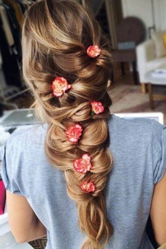 Romantic Braided Hairstyles for Long Hair picture 3