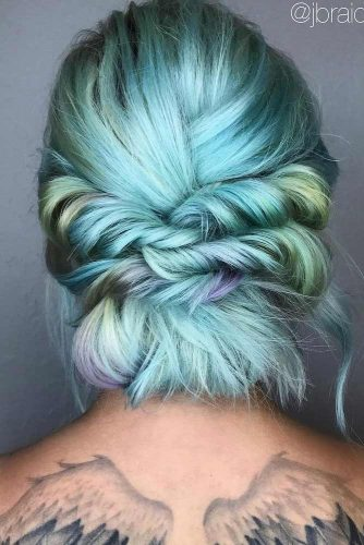 Romantic Braided Short Hairstyles picture 2