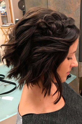 Romantic Braided Short Hairstyles picture 3