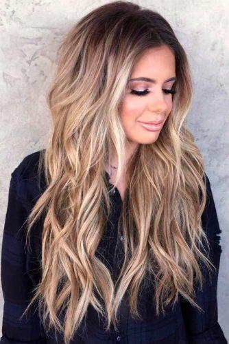 Sassy Multi Layered Hairstyle