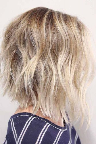Shaggy Blonde Curls