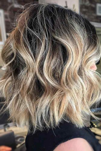 Shoulder Length Messy Hairstyles picture2