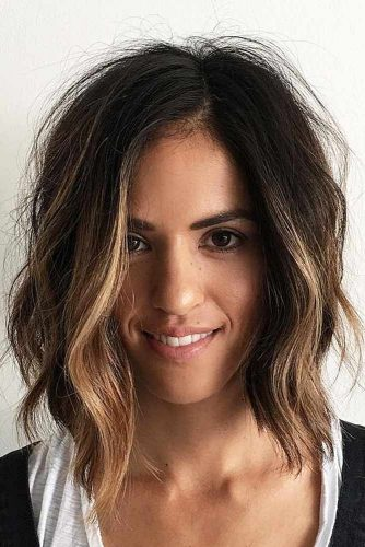 Shoulder Length Messy Hairstyles picture3