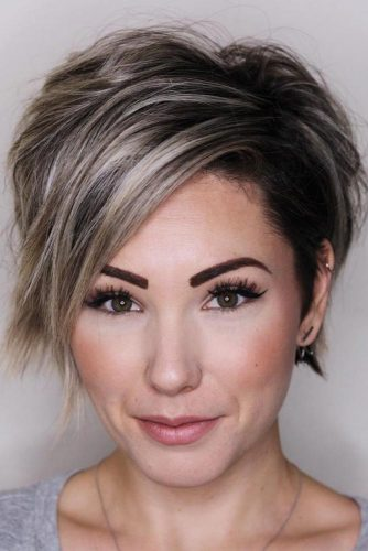 Side Swept Pixie Hairstyles picture2