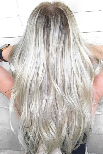 Silver Shade of Blonde Hair Color picture 3