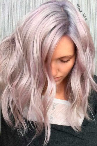 Silvery Blonde