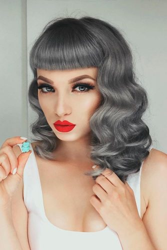 Silvery Gray