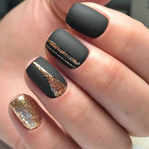 Simple Glitter Nails Designs picture 1