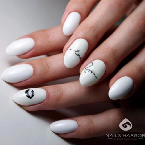 Simple Short Nails Design To Make Your Daily Routine Brighter #shortalmondnails