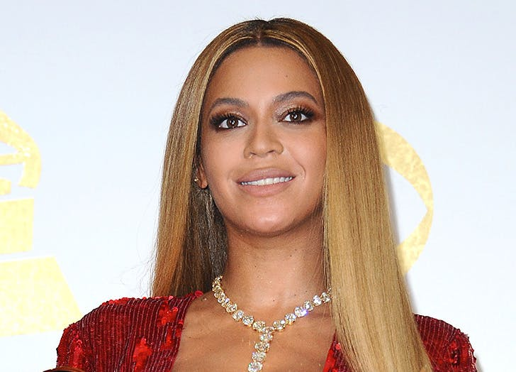 sleek straight hair beyonce8