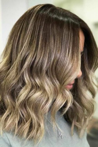 Soft Highlights for Medium Hair picture 1