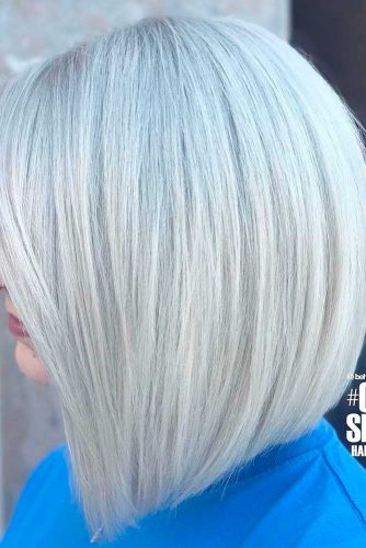 Straight A-line Bob without Bang