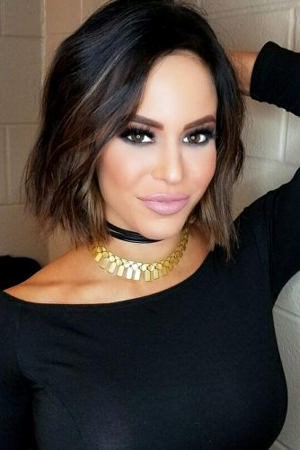 Straight Bob Hairstyles Brown Ombre #shorthair #shorthairstyles #bobhairstyles #pixiehairstyles #brownombre