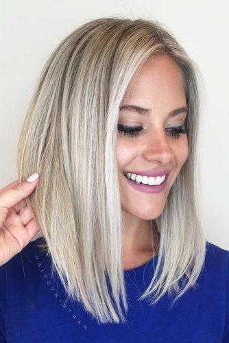 Straight Long Bob Hairstyles for Fast Perfect Look Picture 4