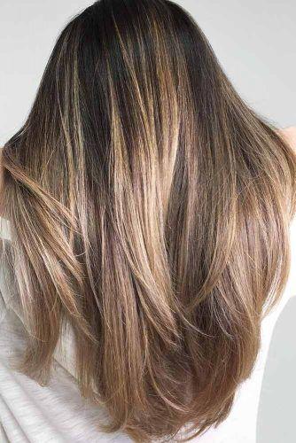 Straight Long Haircut #haircutstyles #haircuts #longhair