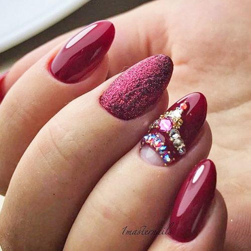 Stunning Burgundy Nails You Should Try picture 1