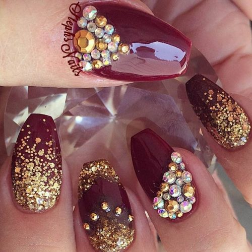 Stunning Burgundy Nails You Should Try picture 2