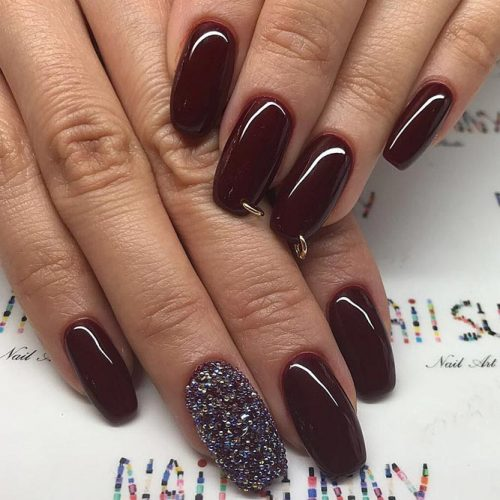 Stunning Burgundy Nails You Should Try picture 4