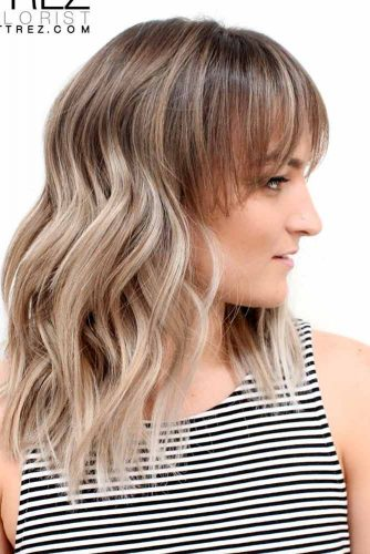 Stylish Ideas for Medium Hair with Bangs picture 1