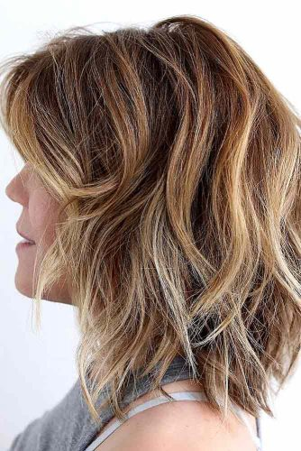 Stylish Ideas for Medium Hair with Bangs picture 6