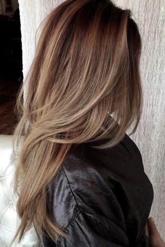 Stylish Long Haircuts, Tousled Layers
