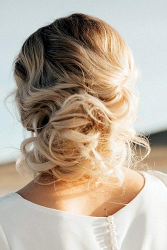 Stylish Low Buns and Top Knots picture 4