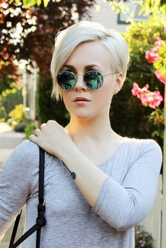 Super Short Bob Hairstyles with Asymmetric Picture 6