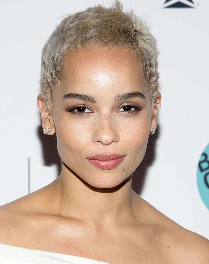 super short pixie hair zoe kravitz18