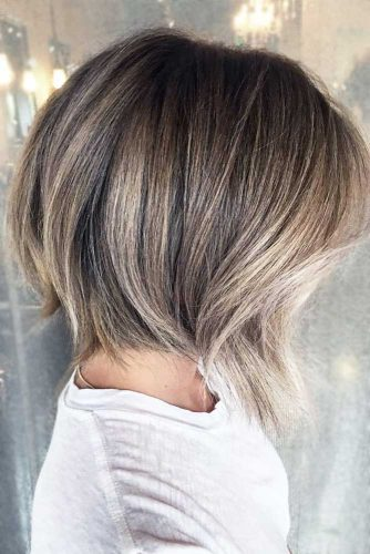 Trendy Ash Blonde Hair Color #shortombrehair #highlights #shorthair #bobhaircut #ashblondehair