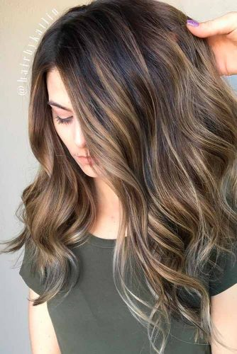 Trendy Brown Ombre Hairstyle picture 3