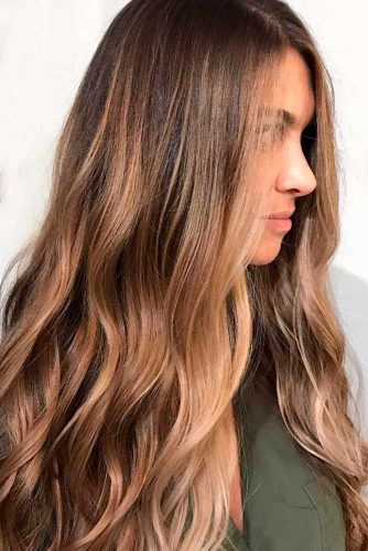 Trendy Brown Ombre Hairstyle picture 5