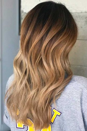 Trendy Brown Ombre Hairstyle picture 6