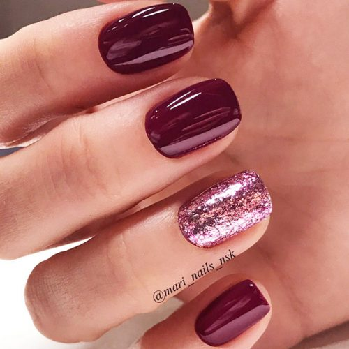Trendy Burgundy Nail Ideas picture 4