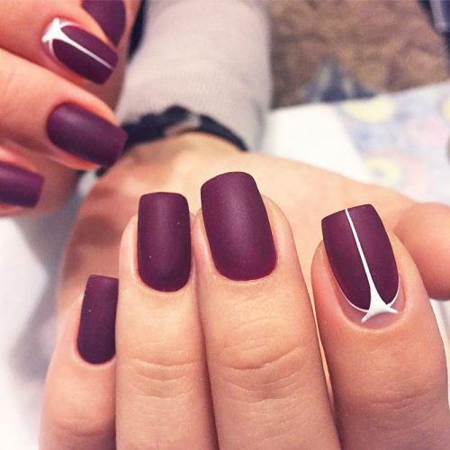 Trendy Burgundy Nail Ideas picture 5