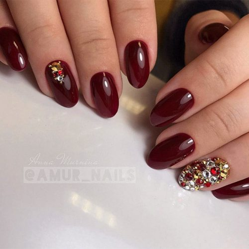 Trendy Burgundy Nail Ideas picture 6