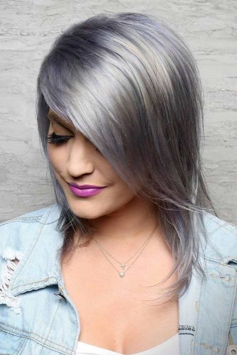 Trendy Side Swept Bangs picture 5